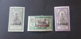 Inde Yvert 63-65** - Unused Stamps