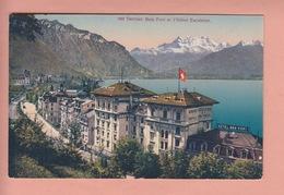 OLD POSTCARD - SWITZERLAND - SUISSE -    SCHWEIZ -      TERRITET - HOTEL EXCELSIOR - VD Vaud