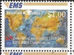 TRINIDAD AND TOBAGO, 2019, MNH, JOINT ISSUES, EMS,1v - Emissions Communes