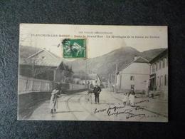 Cpa 70 Plancher Les Mines Dans La Gd Rue La Montagne De La Croix Du Colera - France
