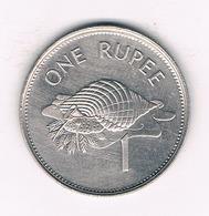ONE RUPEE 1997 SEYCHELLEN /1298/ - Seychelles