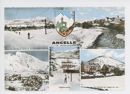 Ancelle Multivues, Pistes Ski Teleski Géénérale Chalets Armée De L'air Blason (n9) - France
