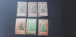 Inde Yvert 85-90** - Unused Stamps
