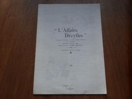 """""""L'Affaire Dreyfus"""" Catalogue Descriptifs Des Cartes Postales Illustrées 1894-1903 (réédition Ancienne Env. 50 Ans) - France"""