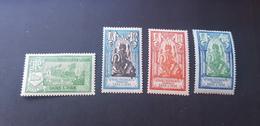 Inde Yvert 91-94** - Unused Stamps