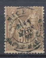 N°69 CACHET NICE. - 1876-1878 Sage (Tipo I)