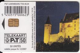 LUXEMBOURG - Burg Vianden(TT 03), 06/04, Used - Luxembourg