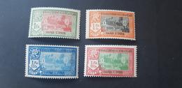 Inde Yvert 95-98** - Unused Stamps