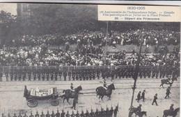 Bruxelles, 75e Anniversaire De L'indépendance Belge, Grande Fête Patriotique Du 21 Juillet Place Poelaert  (pk68085) - Fêtes, événements