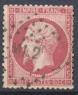 N°24  NUANCE ET OBLITERATION. - 1862 Napoleone III
