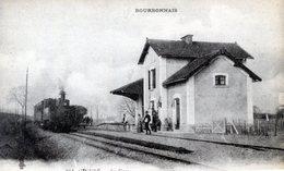03   CINDRE LA GARE AVEC TRAIN - Autres Communes