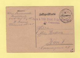 Poste D Etape - 1917 - Infanterie Regiment N°3 11 Compagnie - Poststempel (Briefe)