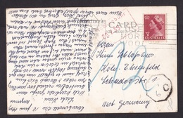 Australia: Picture Postcard To Germany, 1959, 1 Stamp, Queen, Postage Due, Taxed, 2x To Pay Cancel (discolouring) - Covers & Documents
