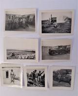7 X Photographie Originale Tobrouk  Libye Afrique Du Nord - Guerra, Militares