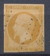 N°13  NUANCE ET OBLITERATION. - 1853-1860 Napoleone III