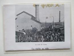 Laroque-d'Olmes (Ariège)  -  Sortie D'Usine  Fabrication Du Drap  -  Ets RICALENS - Coupure De Presse De 1952 - Documents Historiques