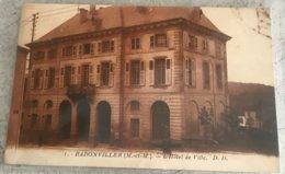54 Badonviller Hotel De Ville Fontaine - Frankreich