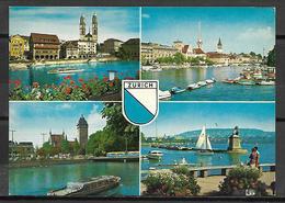 ZURICH    -    CPM   -    Multi - Vues. - ZH Zurich