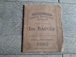 Petit Catalogue Baguès Bronzes Da'art Ameublement éclairage Lampe Paris Décoration - Décoration Intérieure