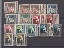 Letland Kleine Verzameling Tussen Michel-nr 33 En 39 **/* Of Gestempeld - Lettland