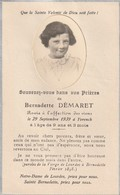 80150 YVRENCH - BERNADETTE DEMARET En 1939 - Décès