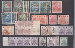 Letland Kleine Verzameling Tussen Michel-nr 40 En 50 **/* Of Gestempeld - Lettland