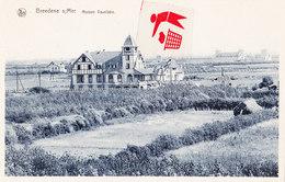 BREEDENE Sur Mer - Maison Vaxelaire - Carte Bleutée - Bredene