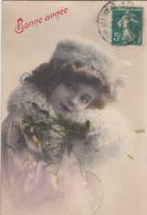 CPA  FILLETTE   GRETE REINWALD  Bonne Année - Portraits