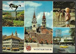 WINTERTHUR     -    CPM    -    Multi - Vues. - ZH Zurich