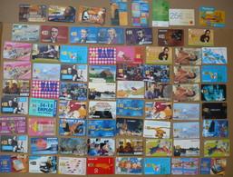 Lot De 71 Télécartes - Mi Années 90 à Fin Années 2000 - Bon état - Télécartes