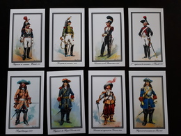 8 Cartes : Uniformes De Cuirassiers 1658 à 1815 - Dokumente