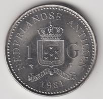 @Y@    Nederlandse Antillen  1  Gulden  1981  ( 4721 ) - Antillen (Niederländische)