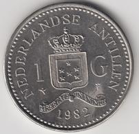 @Y@    Nederlandse Antillen  1  Gulden  1982  ( 4722 ) - Antillen (Niederländische)