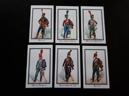 6 Cartes : Uniformes De Hussards 1791 à 1812 - Documents