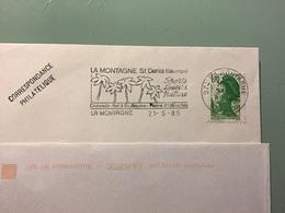 RÉUNION — LA MONTAGNE 21-5-85 - Marcophilie (Lettres)
