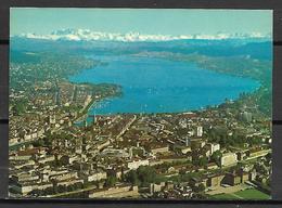 ZURICH     -    CPM    -    Vue  Sur  Les  Alpes. - ZH Zurich