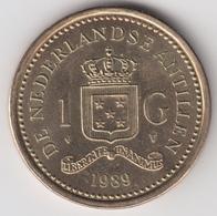 @Y@    Nederlandse Antillen  1  Gulden  1989  ( 4726 ) - Antillen (Niederländische)