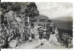 68 - Guerre 14/18 HARTMANNSWILLERKOPF Cérémonie Militaire - Verdun