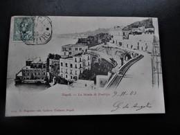 NAPOLI - Naples - La Stradadi Posillipo  - E. Ragazino Edit.Galleria Umberto Napoli - En 1905 - Napoli