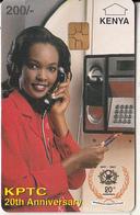 KENYA - Lady On Cardphone, KPTC First Chip Issue 200 KSHS(grey Value), Chip GEM3.1, Exp.date 31/12/99, Used - Kenya
