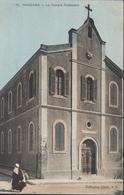 CPA Algérie Mascara Le Temple Protestant Collection Idéale PS P.S. Couleur - Andere Steden