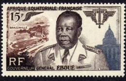 A. E. F.  PA  N° 61 XX Gouverneur-général Eboué, Sans Charnière, TB - Unused Stamps