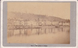 LIEGE Vue Des Quais Bord De Meuse 1880-1890 Photo CDV Au Format CDV - Photos