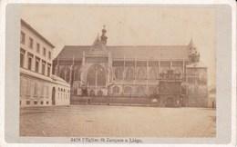 LIEGE Eglise Saint-Jacques 1880-1890 Photo CDV Au Format CDV - Photos