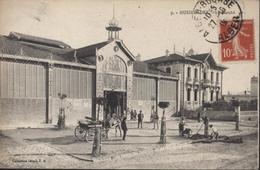 CPA Algérie Hussein Dey Le Marché 9 Collection Idéale PS P.S.CAD Alger Bourse 27 10 1919 - Algérie
