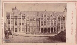 LIEGE Palais Provincial Années 1870 ? Photo Format CDV Par Jos. KIRSCH De Liège - Old (before 1900)