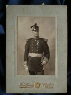 Photo Format Cabinet  Geiser à Alger  Général  Décorations  CA 1900 - L483 - Photos