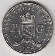 @Y@    Nederlandse Antillen  2 1/2  Gulden  Rijksdaalder  1979  ( 4736 ) - Antillen (Niederländische)