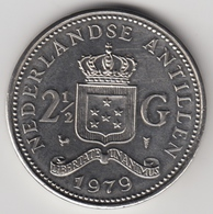 @Y@    Nederlandse Antillen  2 1/2  Gulden  Rijksdaalder  1979  ( 4736 ) - Nederlandse Antillen