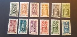 Inde Yvert 236-247** - Unused Stamps